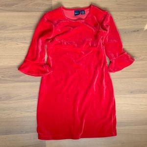 Size 10/12 Basic Editions Velveteen Dress